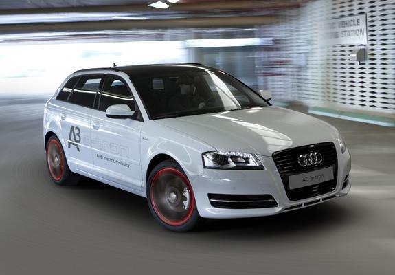 Audi A3 E Tron Prototype 8pa 2011 Images 2048x1536