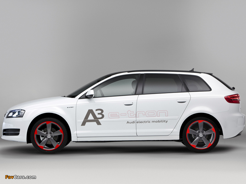 Audi A3 E Tron Prototype 8pa 2011 Images 800x600