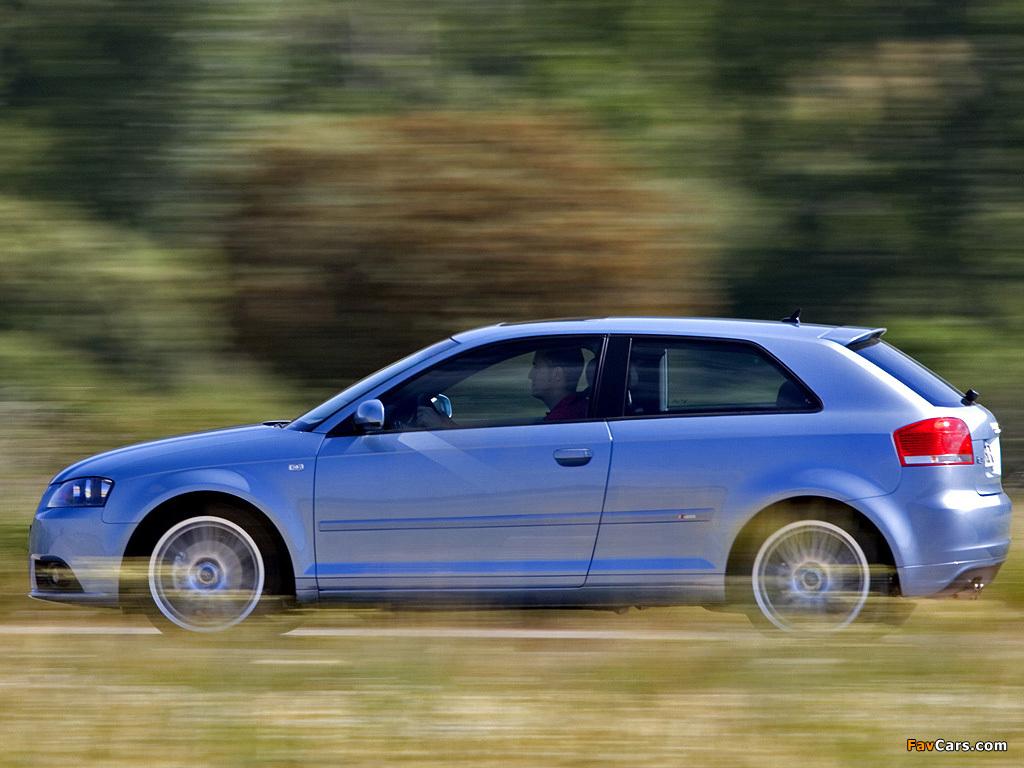 Images Of Audi A3 1 8t S Line 8p 2005 2008 1024x768