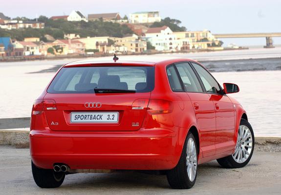 Audi A3 2008 >> Pictures of Audi A3 Sportback 3.2 quattro ZA-spec 8PA (2005–2008) (2048x1536)