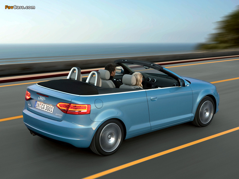 Pictures Of Audi A3 2 0 Tdi Cabriolet 8pa 2008 2010