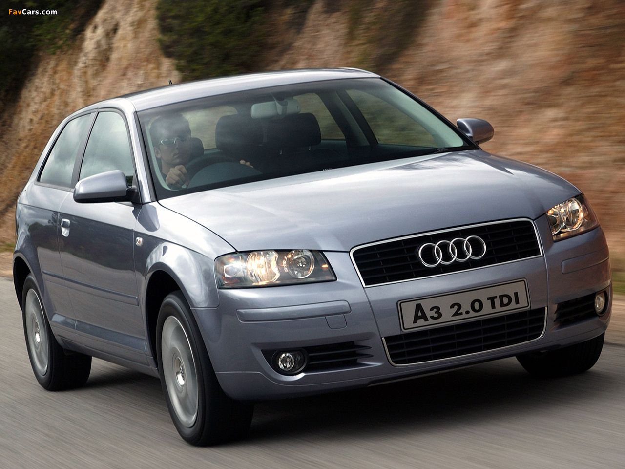 Wallpapers Of Audi A3 2 0 Tdi Za Spec 8p 2003 2005