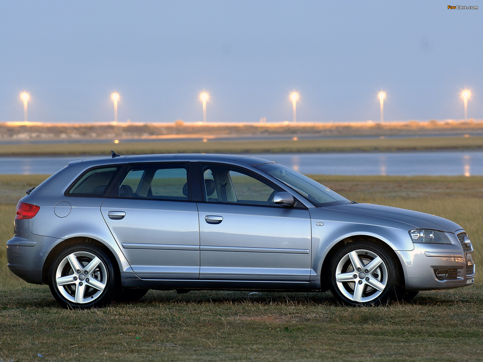 Wallpapers Of Audi A3 Sportback 2 0t Za Spec 8pa 2005