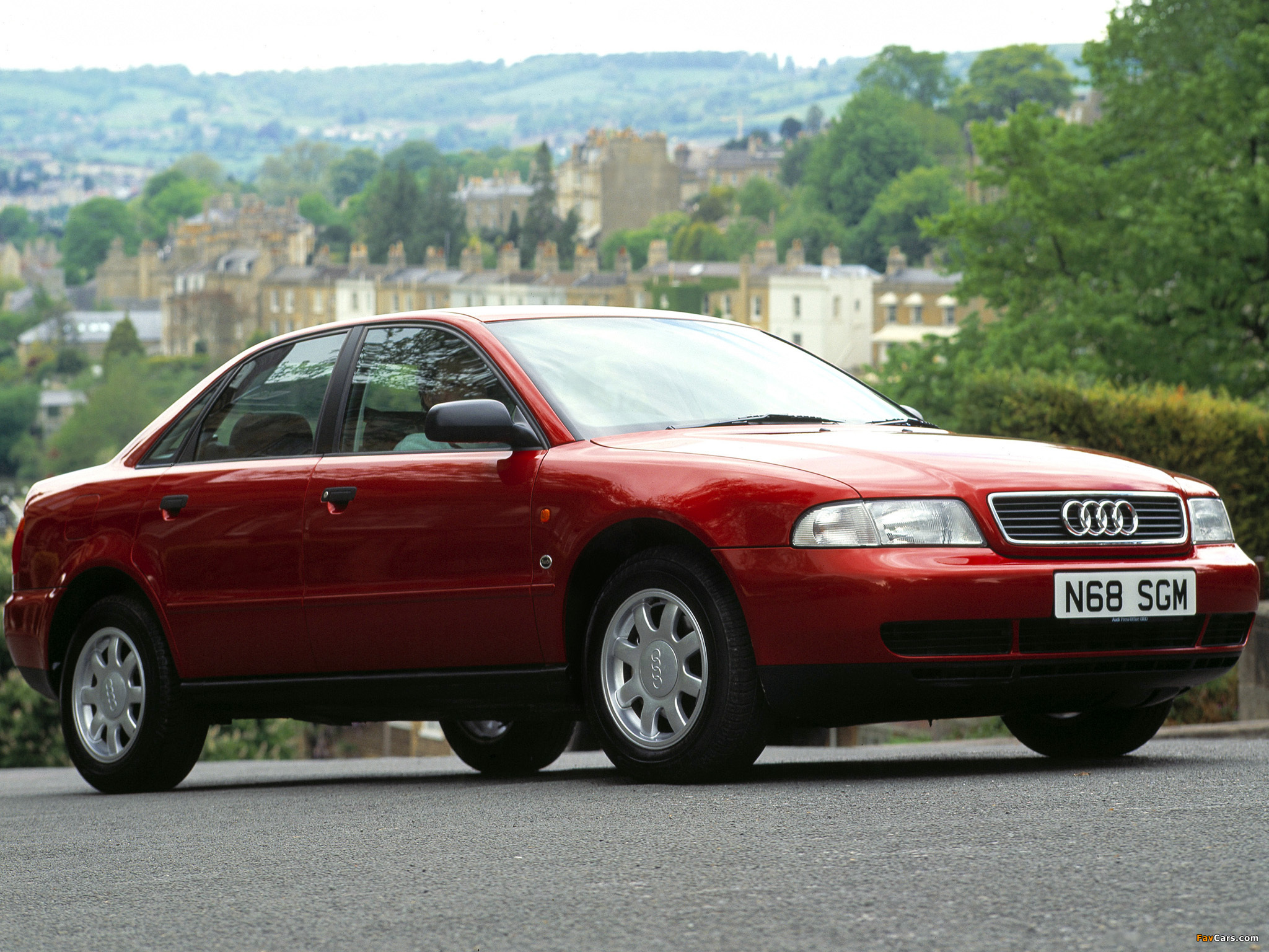Audi A4 Sedan Uk Spec B5 8d 1994 1997 Images 2048x1536