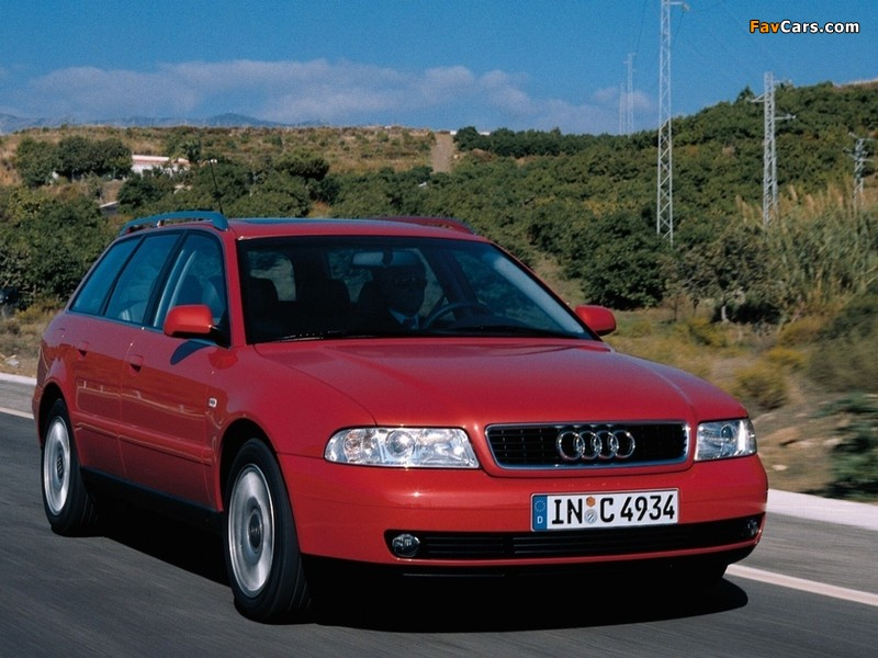 Audi A4 1.9 TDI Avant B5,8D (1996–2001) wallpapers (800 x 600)