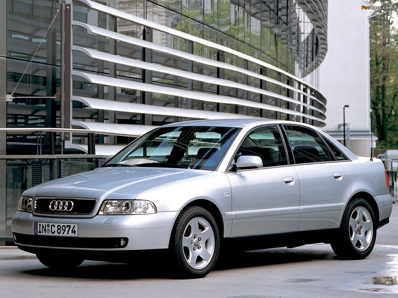 Audi a4 1 8 tdi sedan b5 8d 1997 2000 photos 1280 x 960
