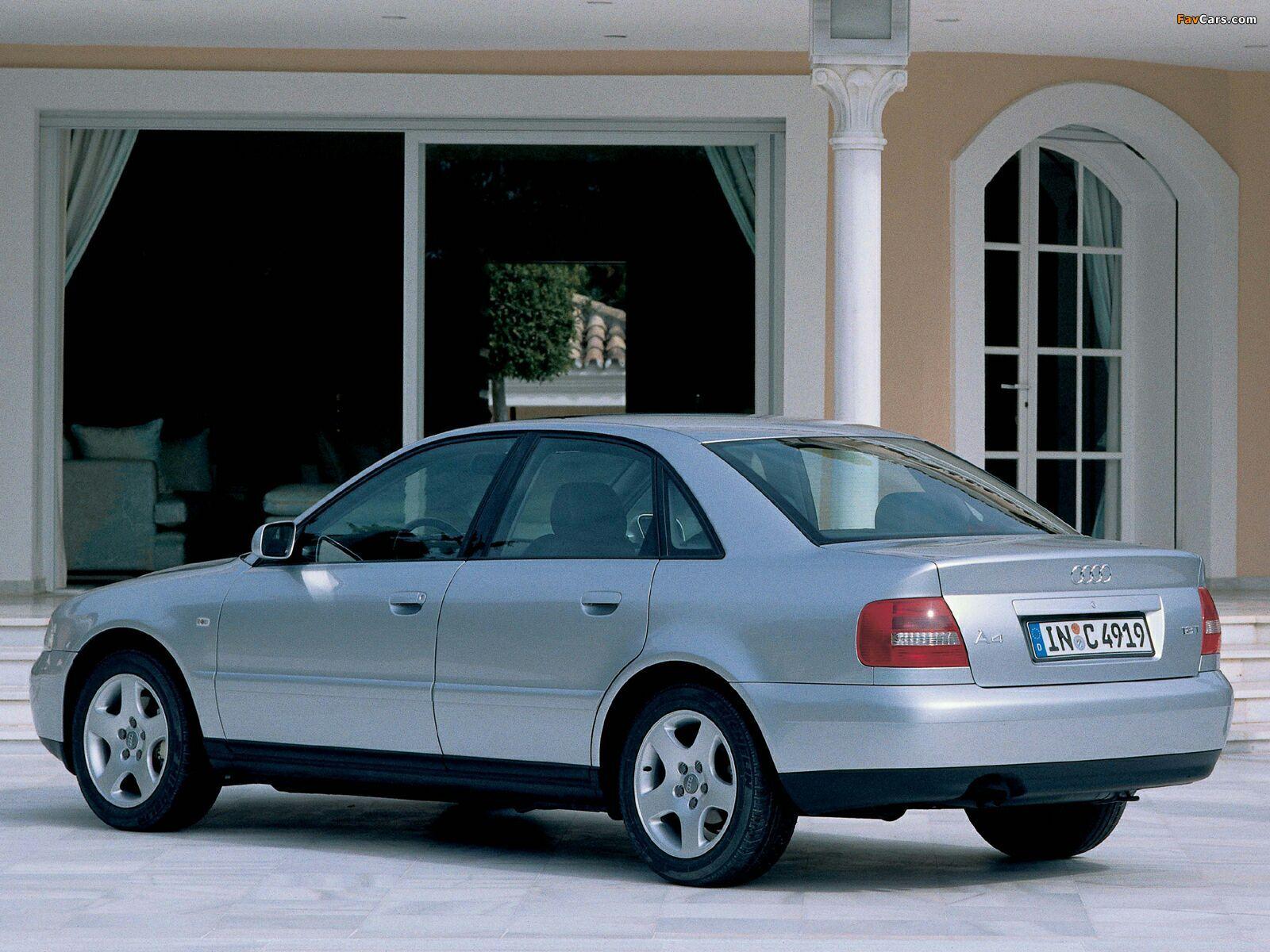 Audi A4 1 8 Tdi Sedan B5 8d 1997 2000 Pictures 1600x1200
