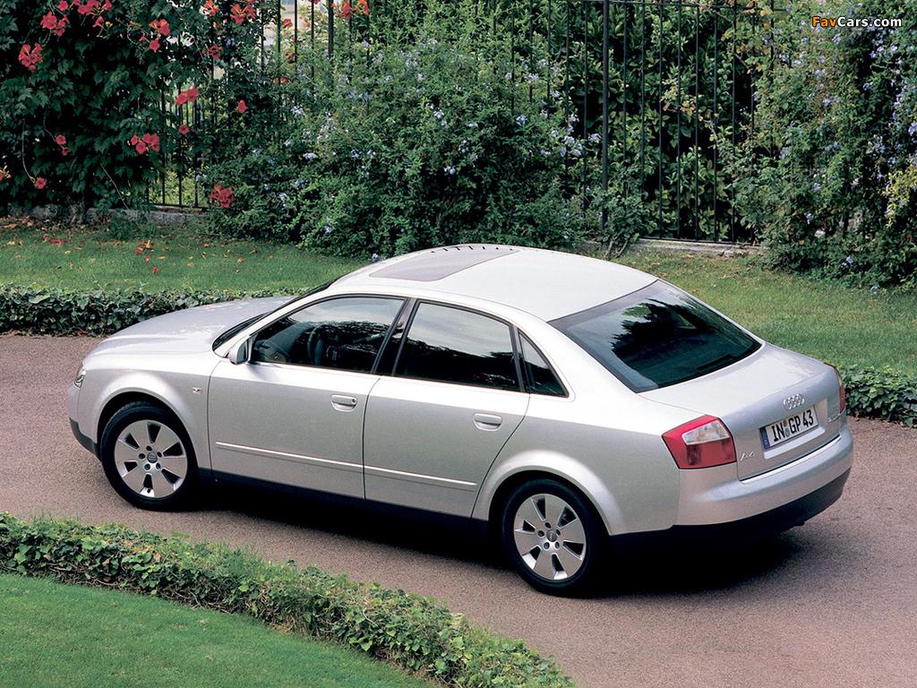 Audi A4 2 5 Tdi Quattro Sedan B6 8e 2000 2004 Pictures