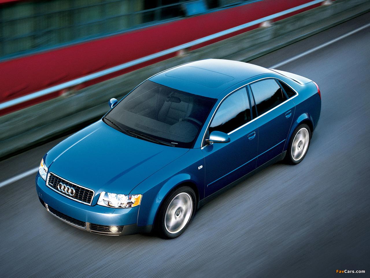 Audi A4 Sedan Us Spec B6 8e 2000 2004 Wallpapers 1280x960