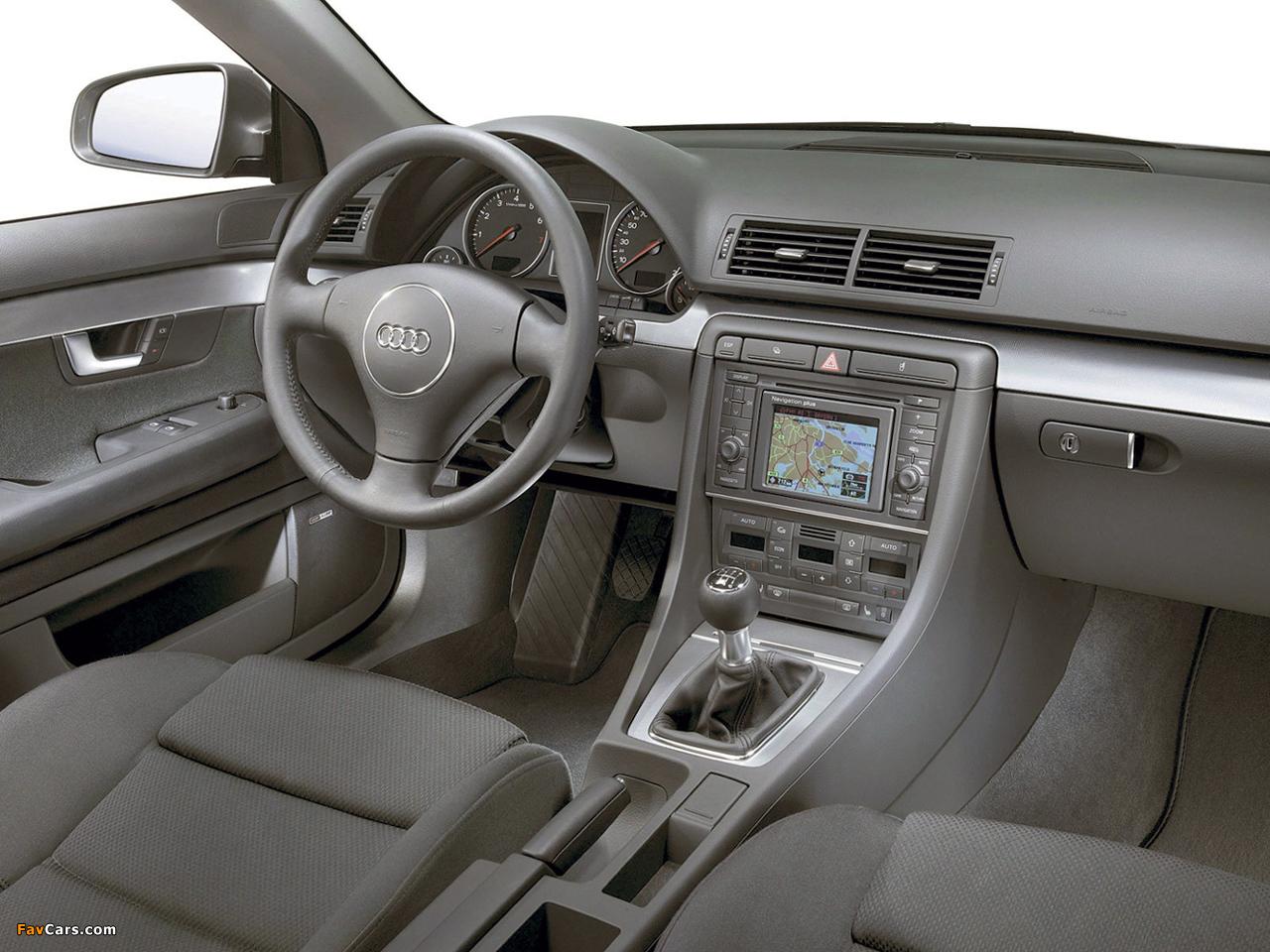 Audi A4 1 8t Sedan B6 8e 2000 2004 Wallpapers 1280x960