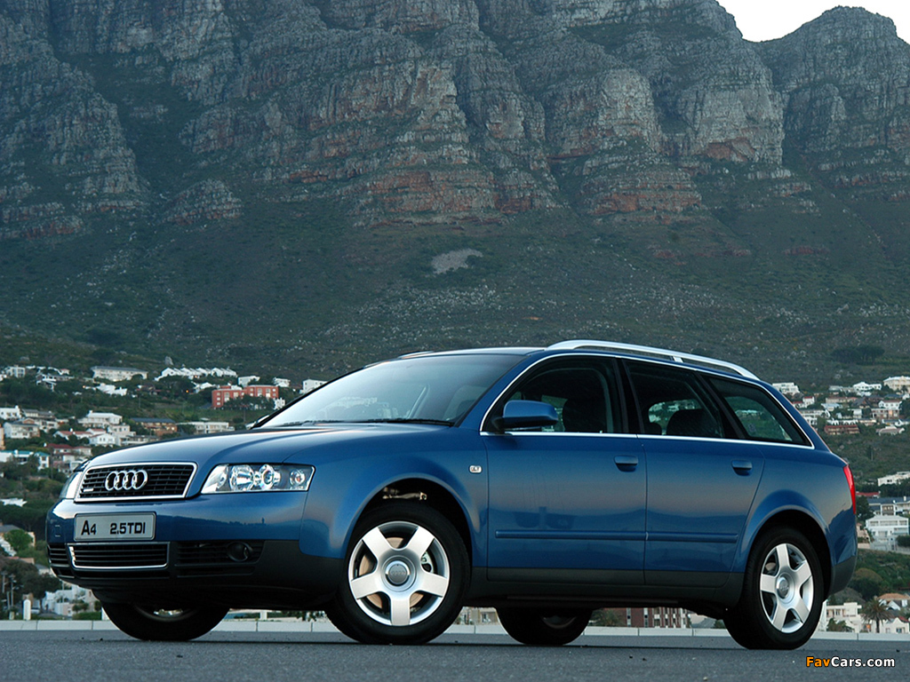 2001 Audi A4 Avant 25 Tdi Quattro Related Infomationspecifications