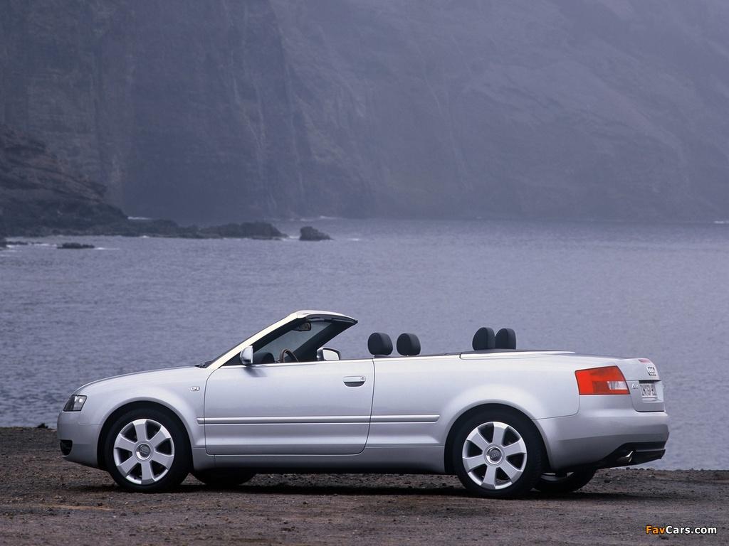 Audi A4 2 4 Cabrio B6 8h 2001 2005 Photos 1024x768