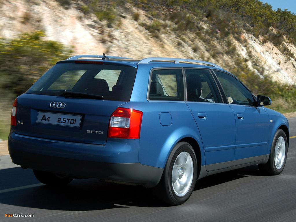 Audi A4 2 5 Tdi Quattro Avant Za Spec B6 8e 2001 2004