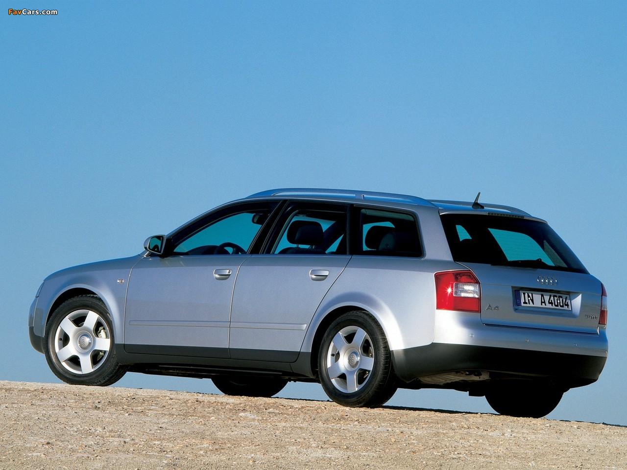 Audi A4 1 9 Tdi Avant B6 8e 2001 2004 Wallpapers 1280x960
