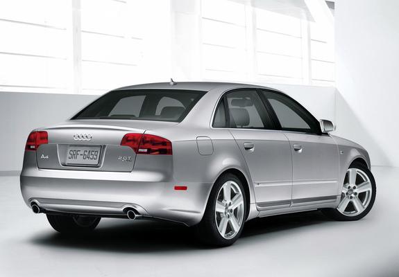Audi A4 2 0t S Line Sedan Us Spec B7 8e 2004 2007 Images
