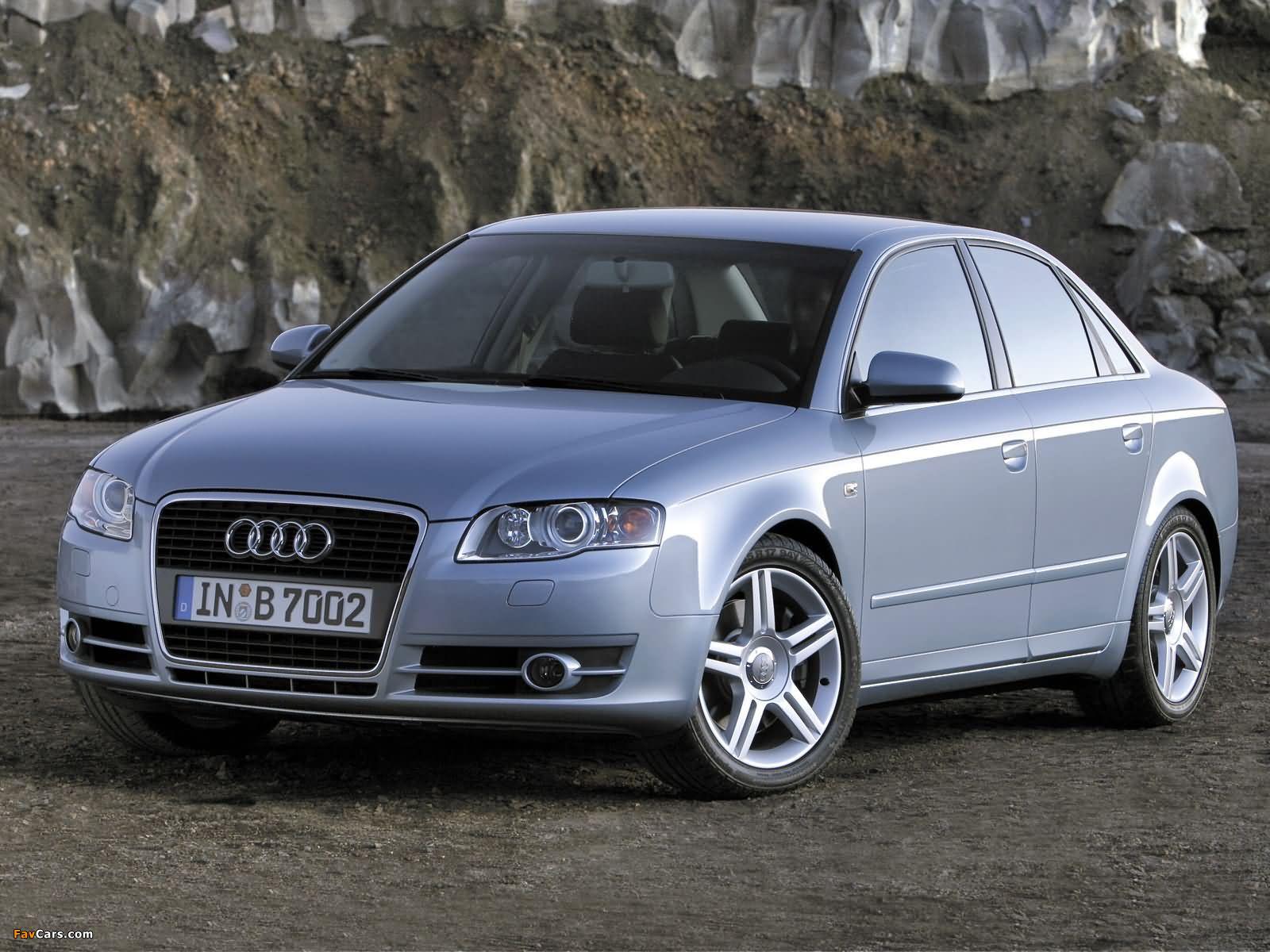 Audi A4 2 0t Sedan B7 8e 2004 2007 Images 1600x1200