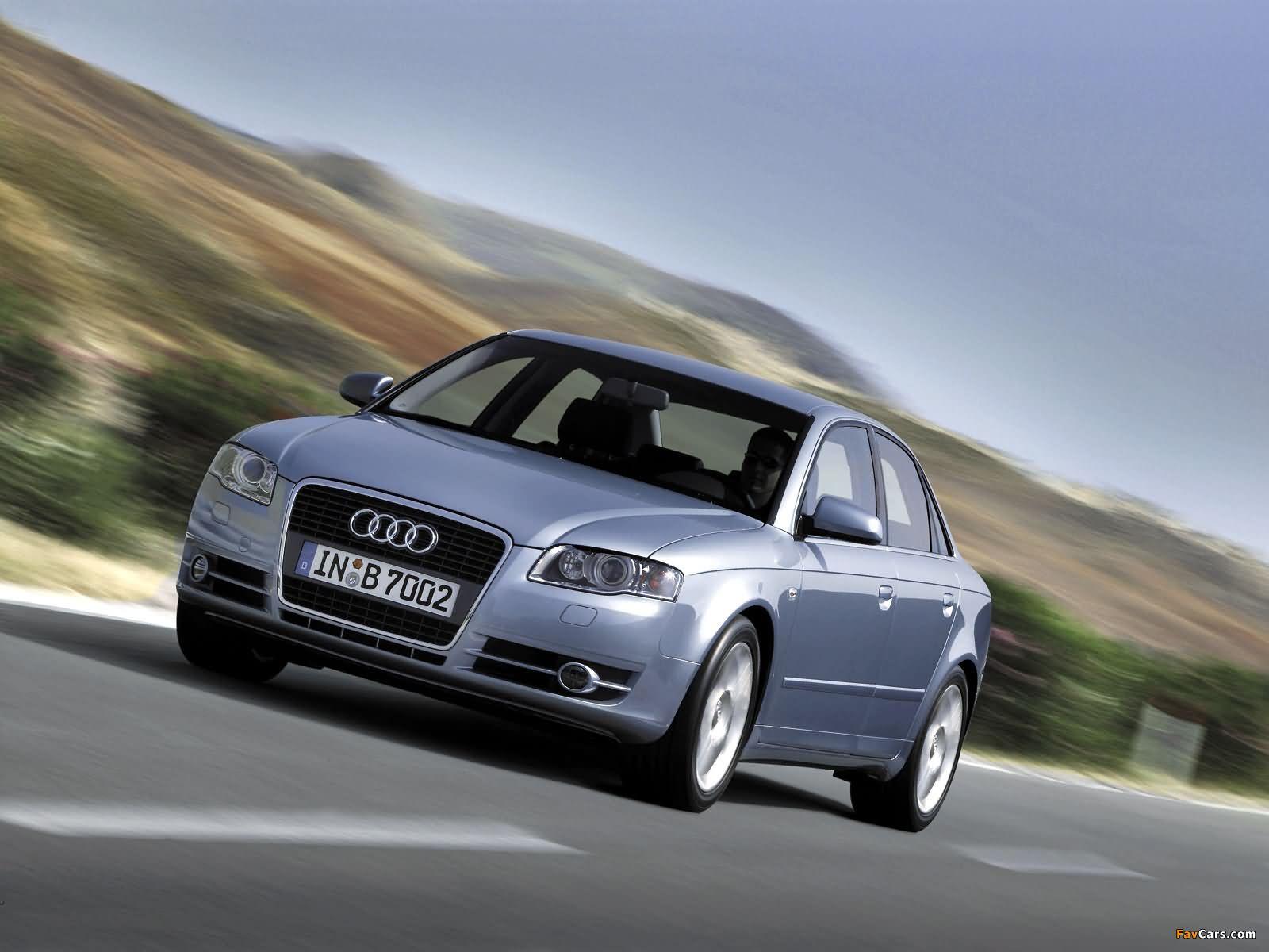 Audi A4 2 0t Sedan B7 8e 2004 2007 Images 1600 X 1200
