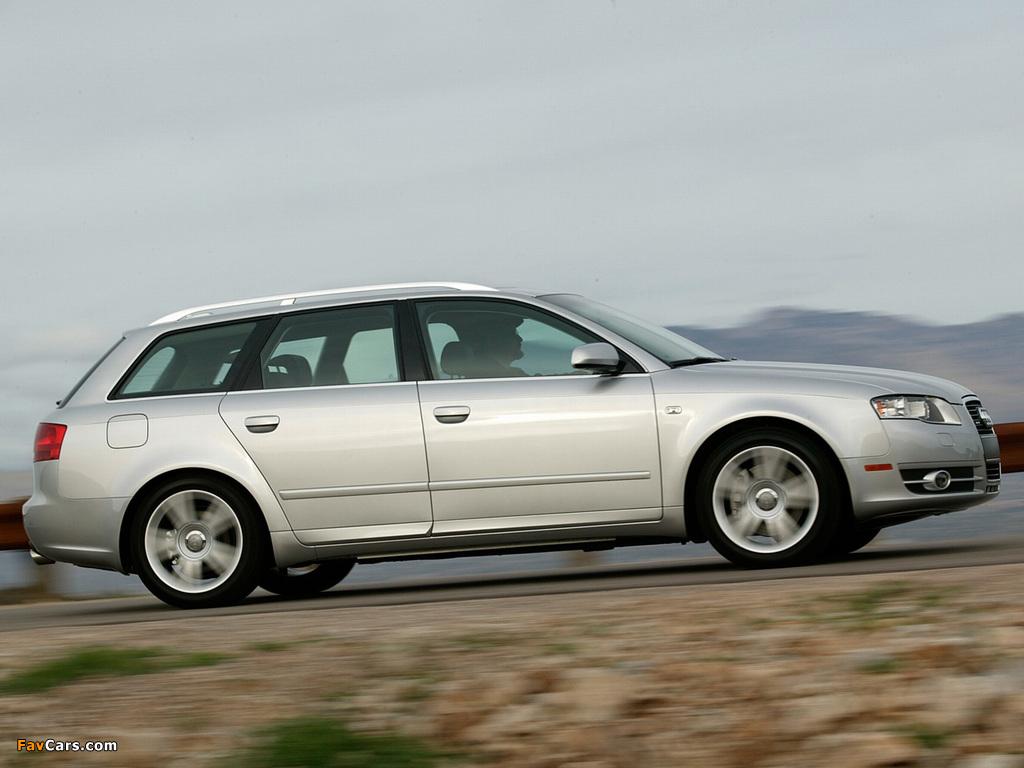 Audi A4 Avant Us Spec B7 8e 2004 2008 Pictures 1024x768