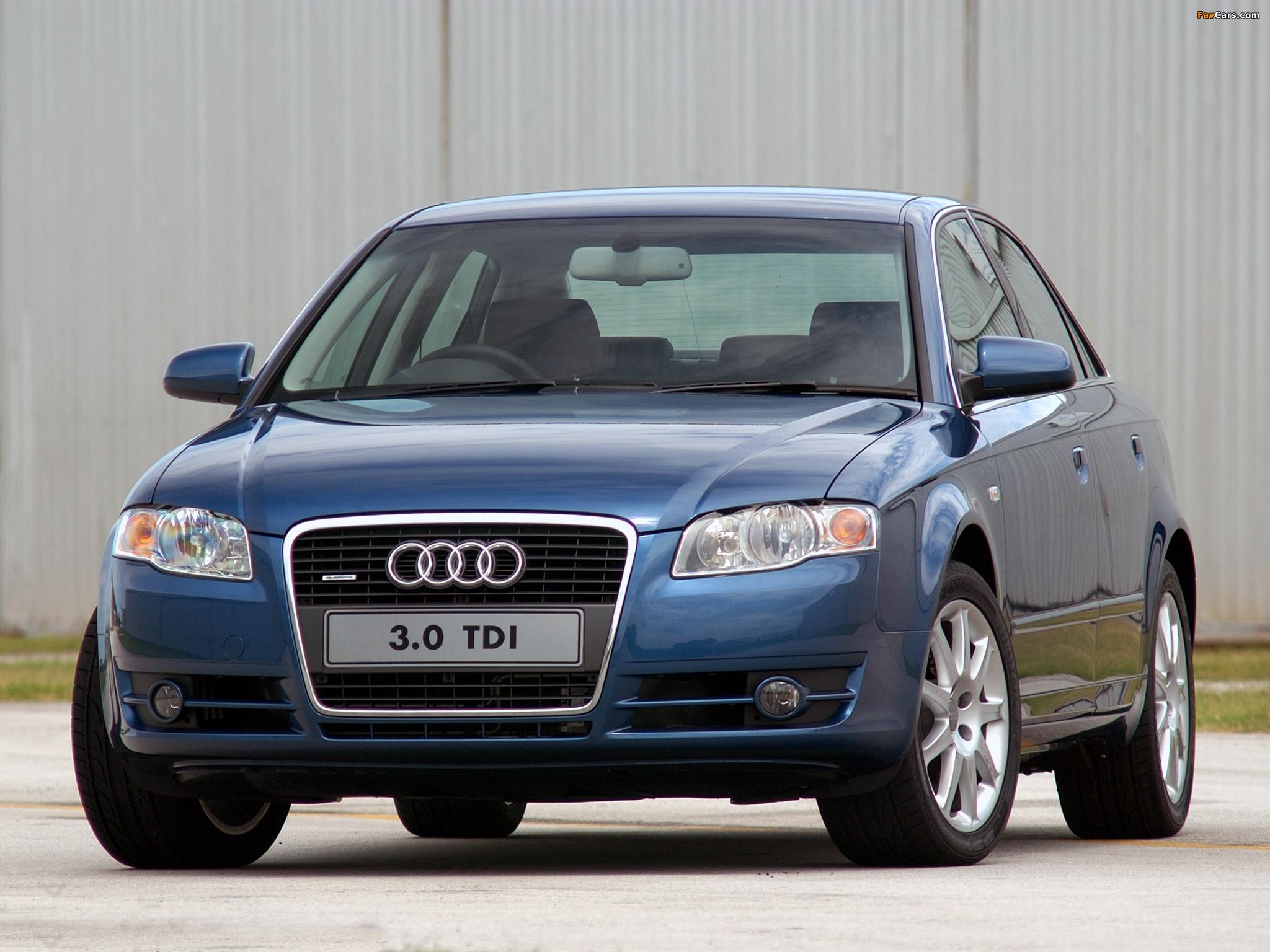 Audi A4 3 0 Tdi Quattro Sedan Za Spec B7 8e 2004 2007
