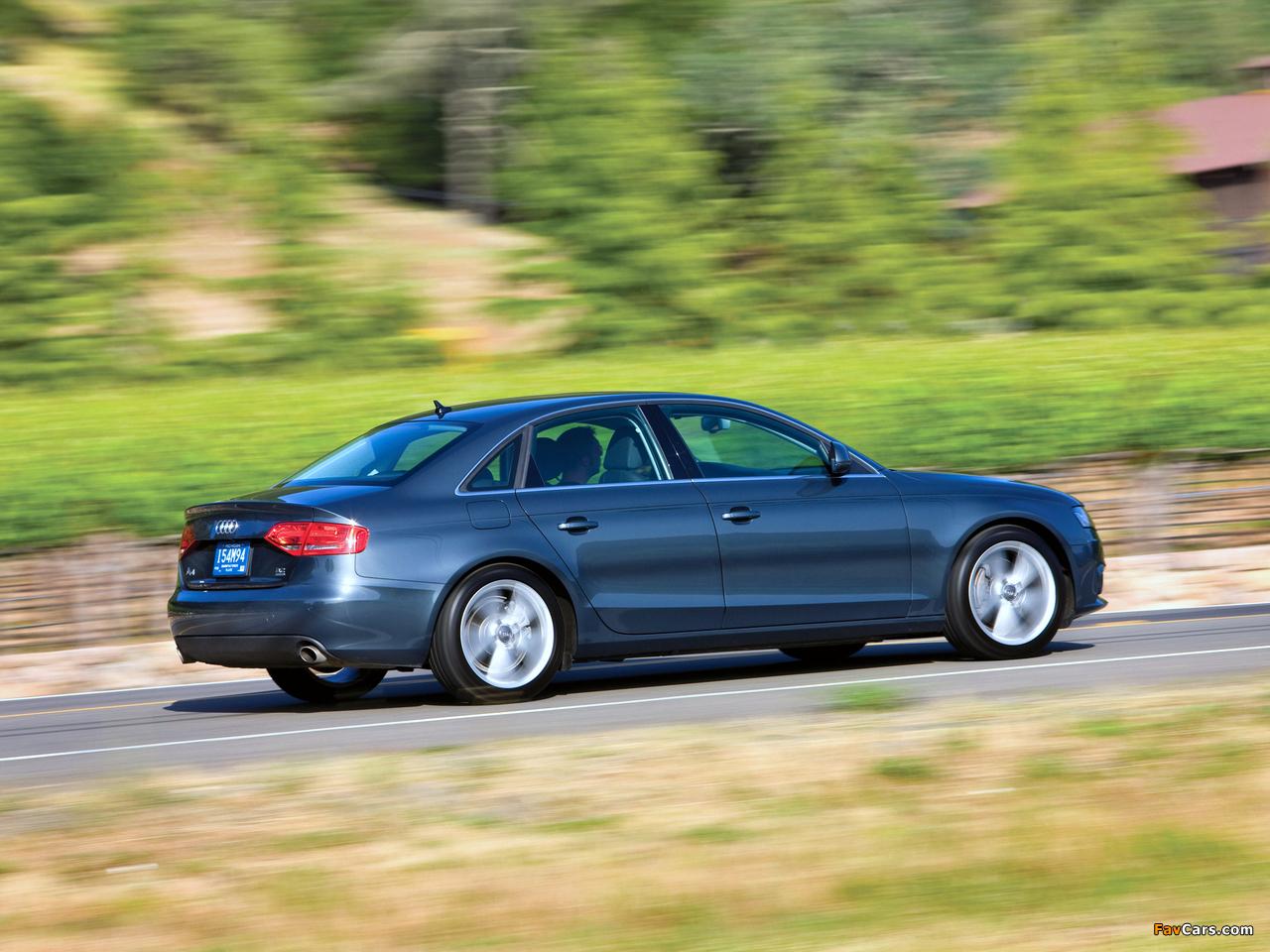 Audi A4 3 2 Fsi Quattro Sedan Us Spec B8 8k 2007 2011