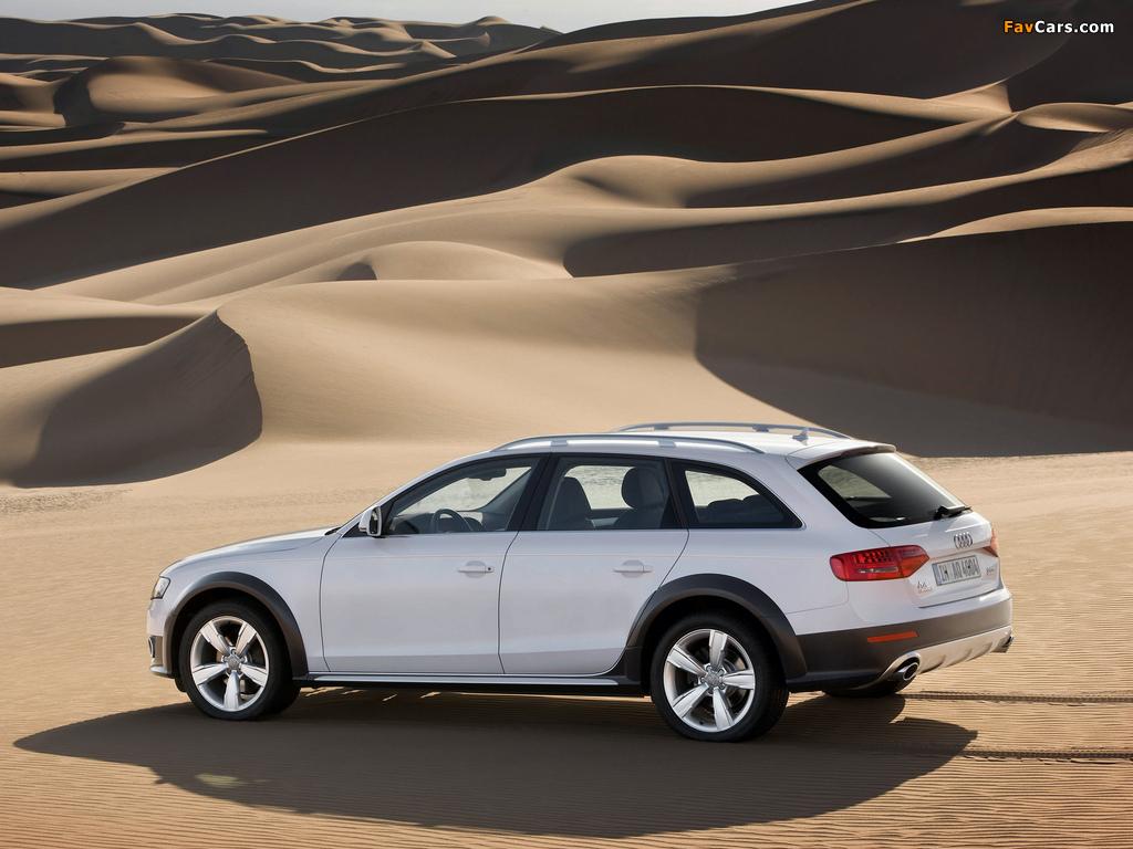 Audi A4 2 0t >> Audi A4 Allroad 2.0T quattro B8,8K (2009–2011) photos (1024x768)