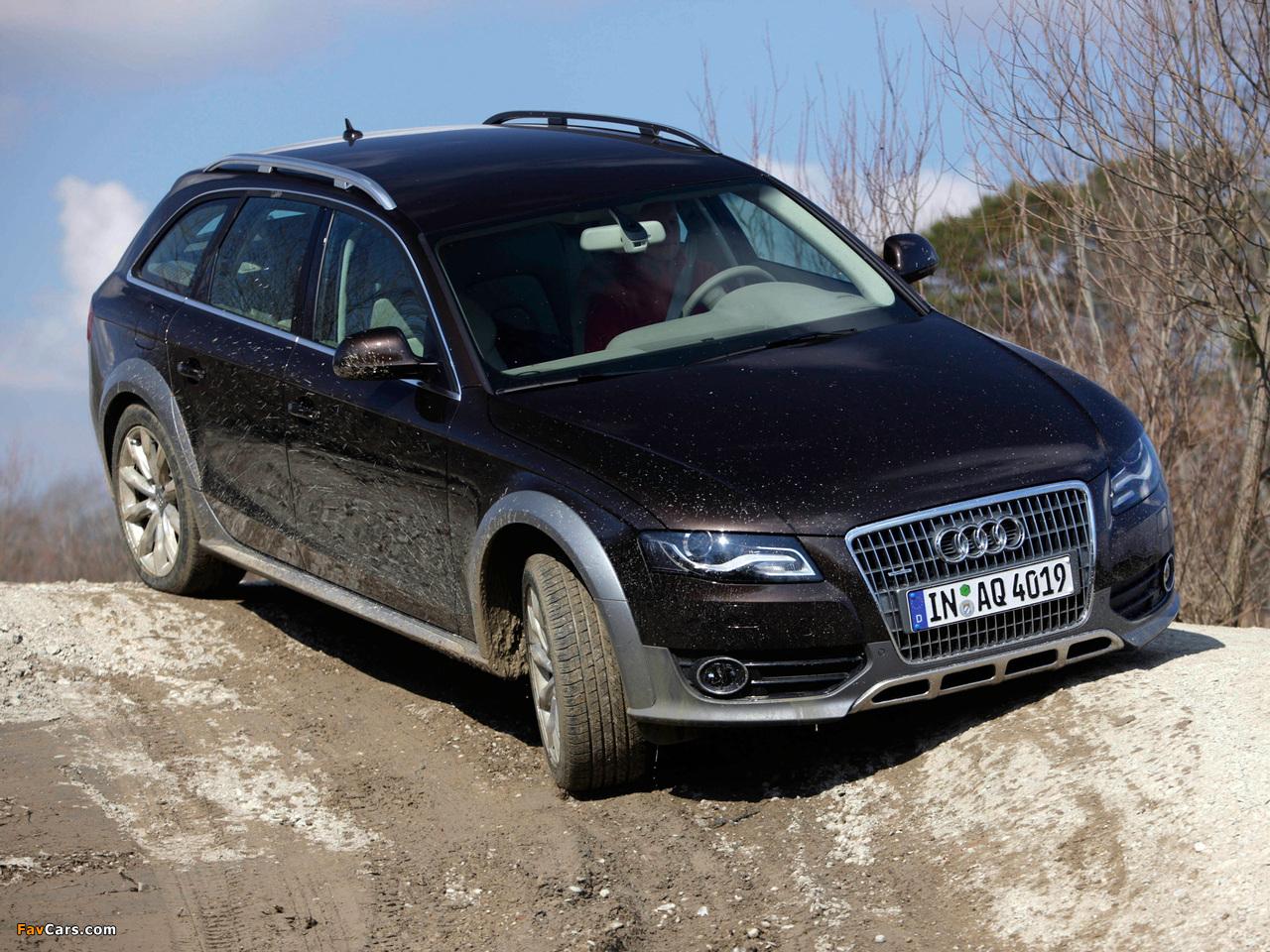 Audi A4 Allroad 2 0 Tdi Quattro B8 8k 2009 2011 Pictures