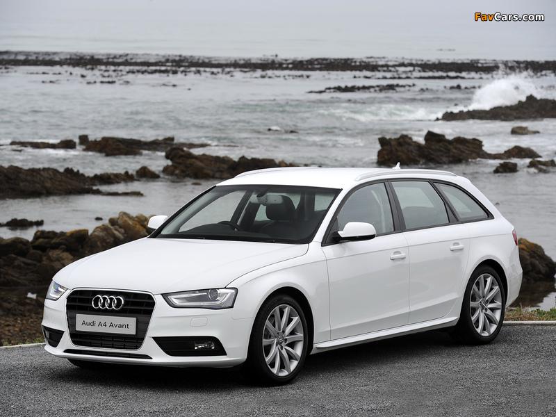 Audi A4 2 0 Tdi Avant Za Spec B8 8k 2012 Pictures 800x600