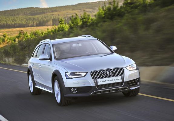 Audi A4 Allroad 2 0 Tdi Quattro Za Spec B8 8k 2012