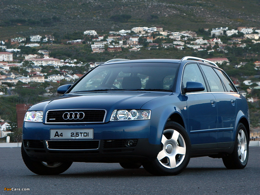 2001 audi a4 avant 2 5 tdi quattro related infomation specifications weili automotive network. Black Bedroom Furniture Sets. Home Design Ideas