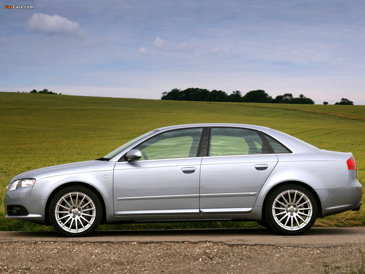 Images Of Audi A4 2 0t S Line Sedan Uk Spec B7 8e 2004
