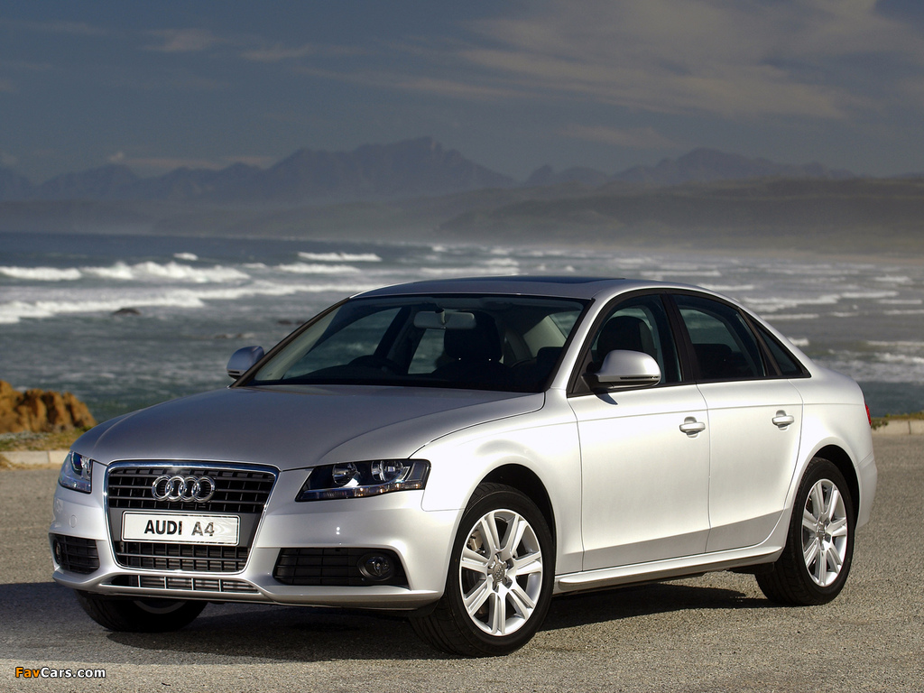 Images Of Audi A4 2 0 Tdi Sedan Za Spec B8 8k 2007 2011