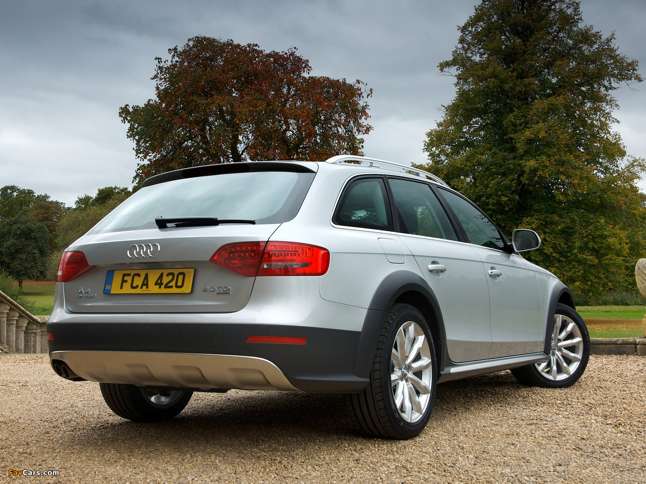 Images Of Audi A4 Allroad 2 0 Tdi Quattro Uk Spec B8 8k