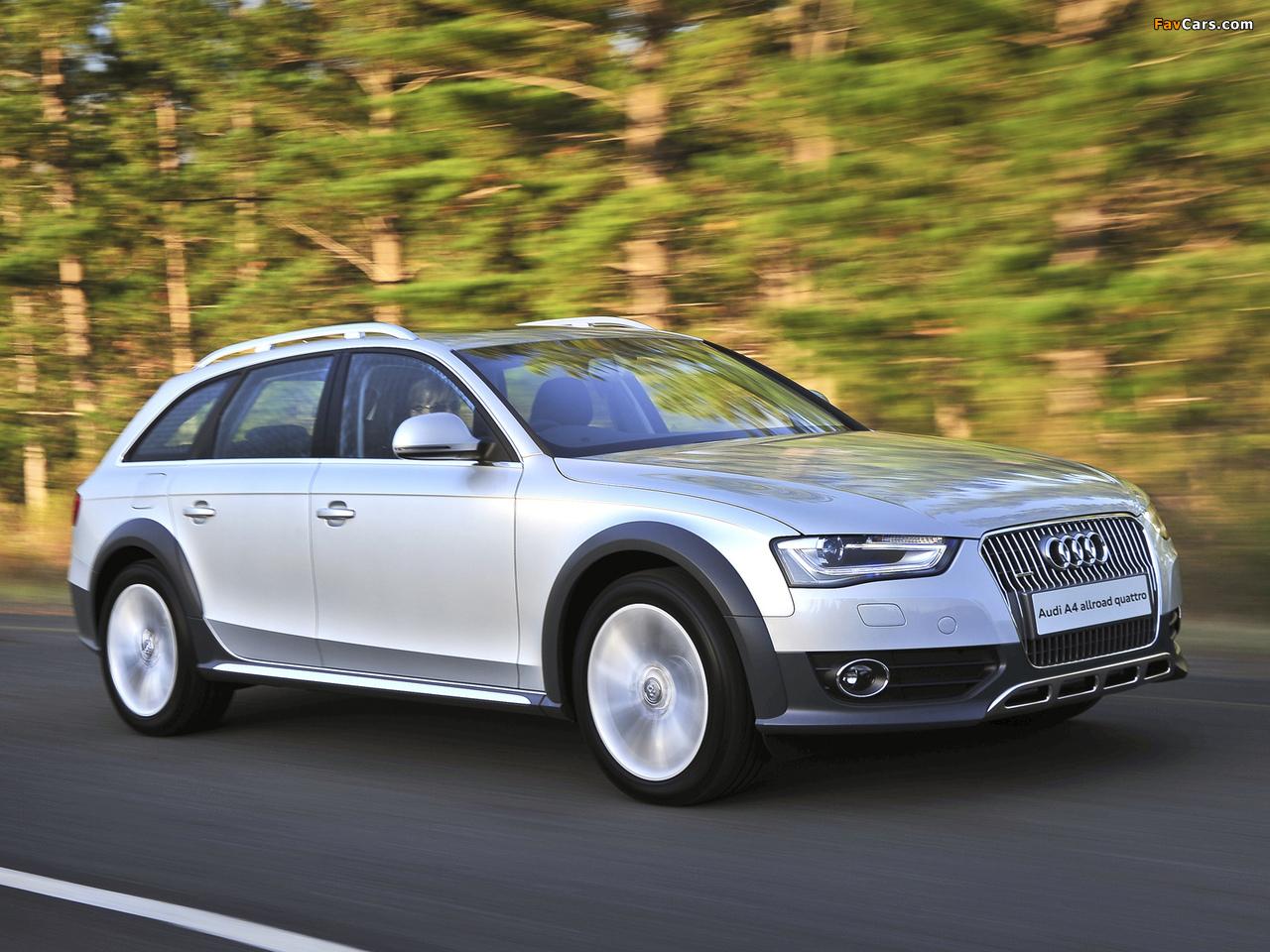 Images Of Audi A4 Allroad 2 0 Tdi Quattro Za Spec B8 8k