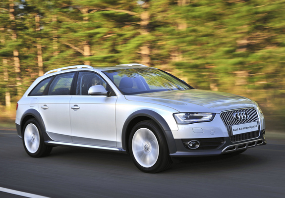Images Of Audi A4 Allroad 2 0 Tdi Quattro Za Spec B8 8k
