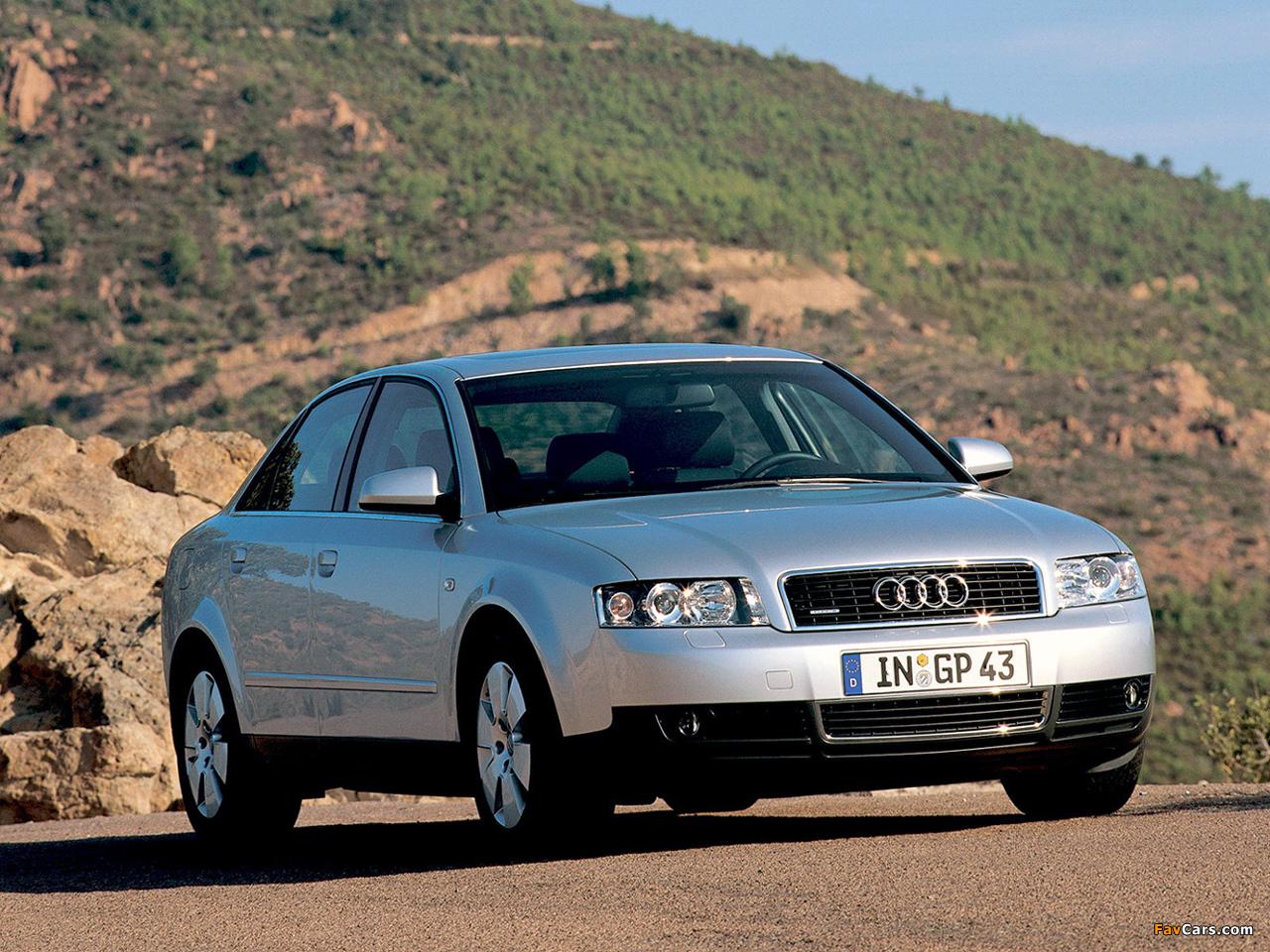 Photos Of Audi A4 2 5 Tdi Quattro Sedan B6 8e 2000 2004