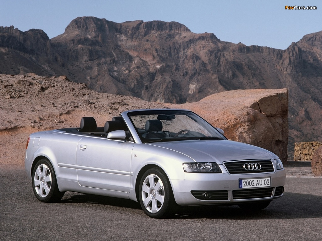 Pictures Of Audi A4 2 4 Cabrio B6 8h 2001 2005 1024x768