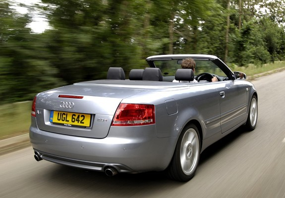 Pictures Of Audi A4 2 0t S Line Cabrio Uk Spec B7 8h 2005