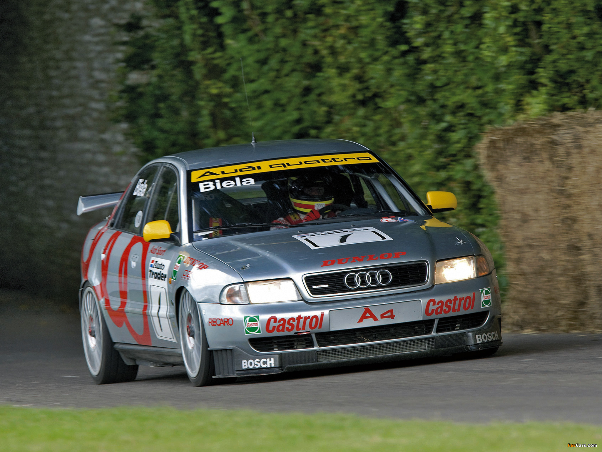 Wallpapers Of Audi A4 Quattro Btcc B5 8d 1996 1997