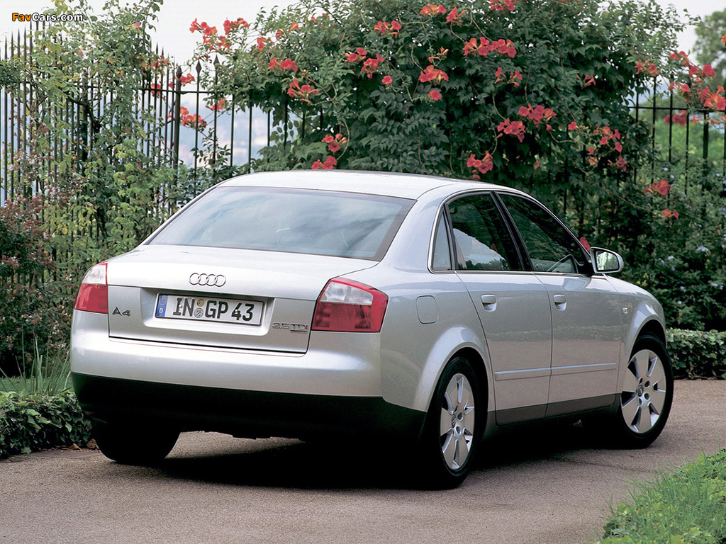 Wallpapers Of Audi A4 2 5 Tdi Quattro Sedan B6 8e 2000