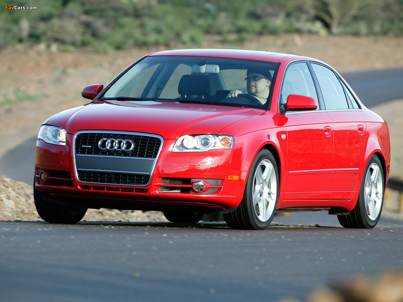 Wallpapers Of Audi A4 Sedan Us Spec B7 8e 2004 2007