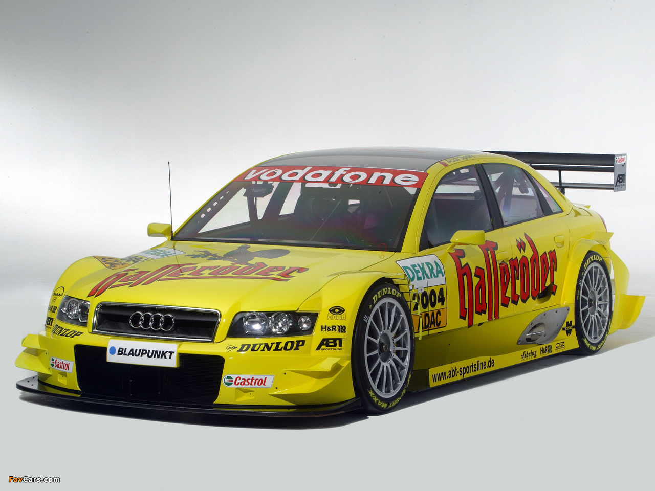Wallpapers Of Audi A4 Dtm B6 8e 2004 2006 1280x960