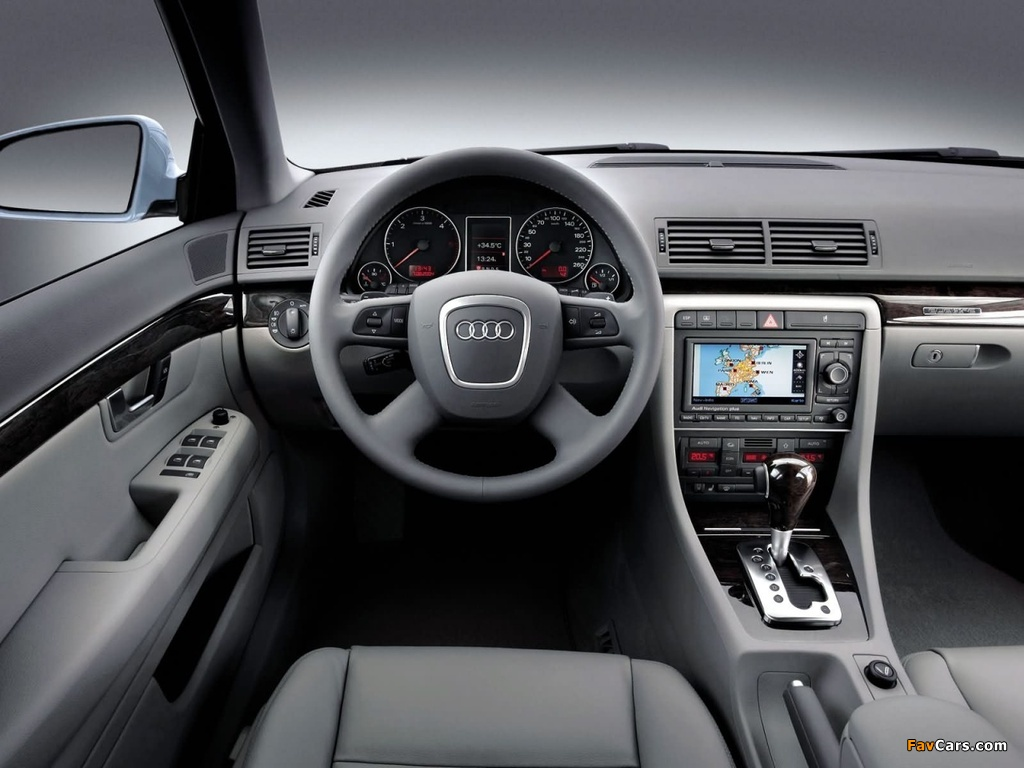 Wallpapers Of Audi A4 2 0t Sedan B7 8e 2004 2007 1024x768