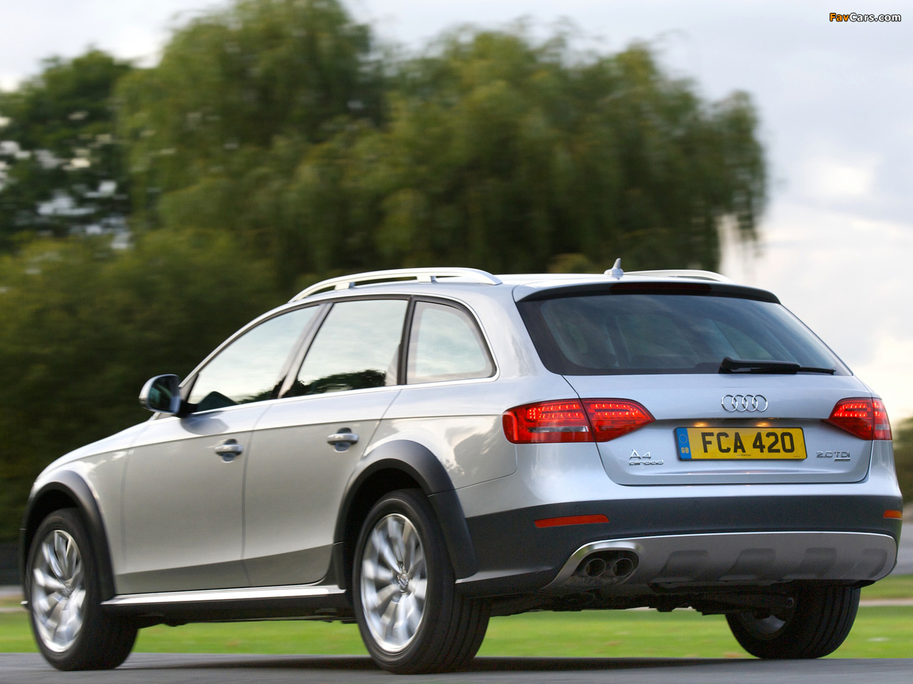 Wallpapers of Audi A4 Allroad 2.0 TDI quattro UK-spec B8,8K (2009–2011) (1280x960)