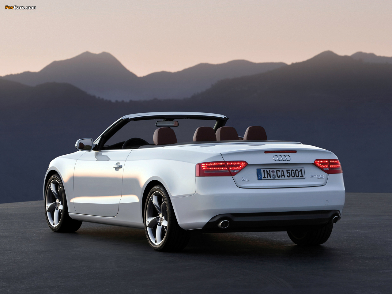 Audi A5 3 0 Tdi Cabriolet 2009 11 Pictures 1280x960