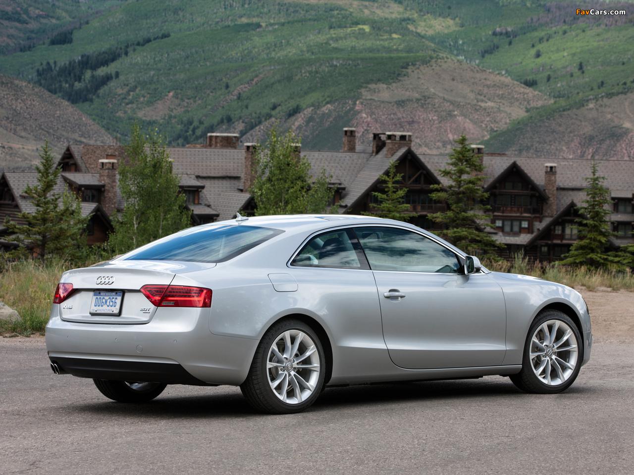 Audi A5 2 0t Coupe Us Spec 2012 Images 1280x960