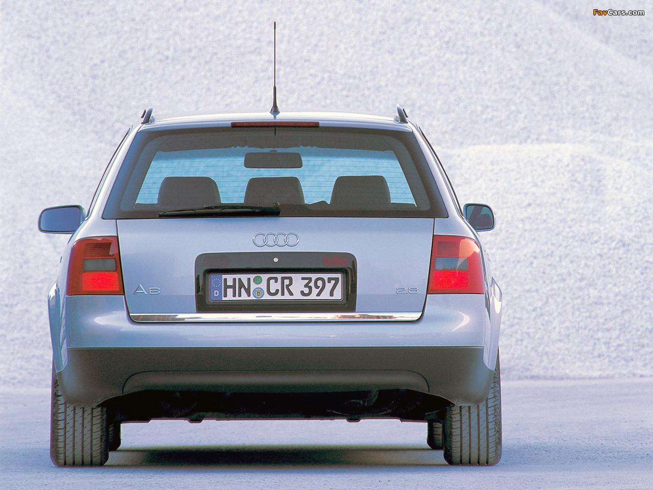 Audi A6 2 8 Avant 4b C5 1998 2001 Pictures 1280x960