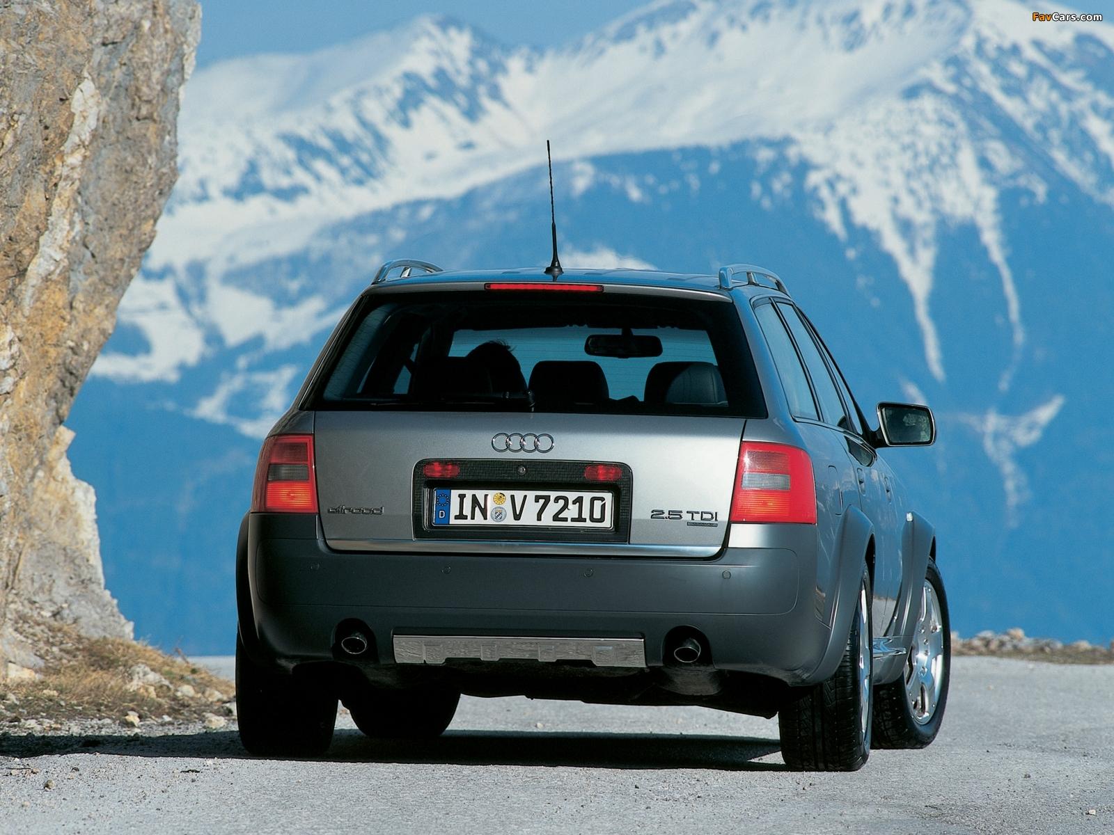 Best Car Wallpaper 2000 Audi allroad quattro 2 7T