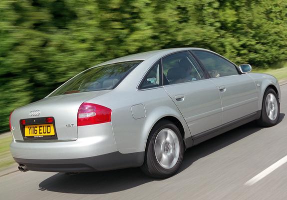 Audi A6 1 8t Sedan Uk Spec 4b C5 2001 04 Pictures 640x480