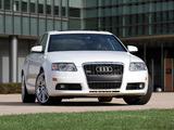 Audi A6 4.2 quattro S-Line Sedan US-spec (4F,C6) 2005–08 photos