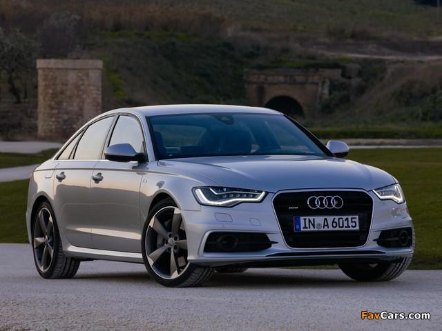 Audi A6 3 0t S Line Sedan 4g C7 2011 Pictures 640x480
